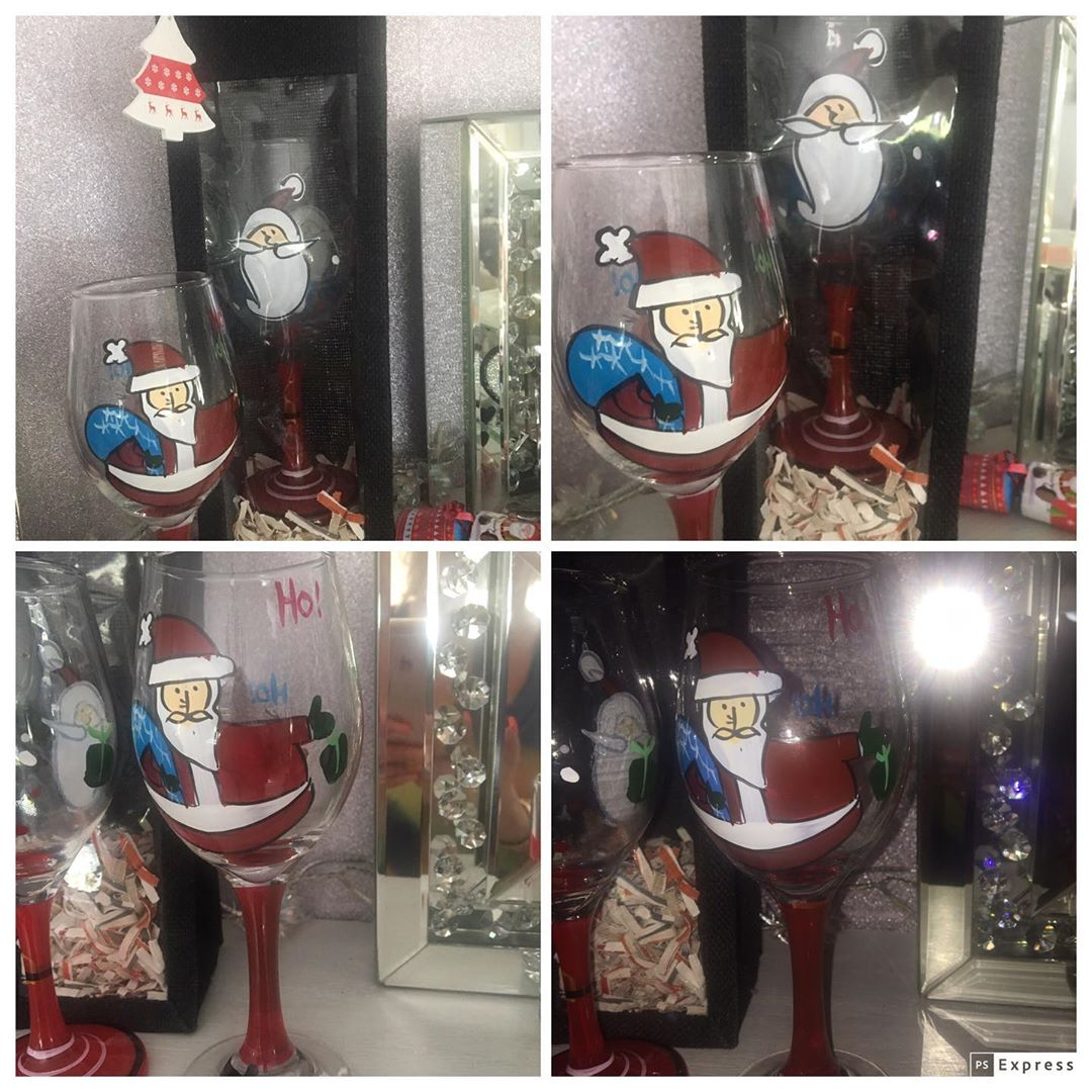 Glass ornaments for Christmas (6 (4)