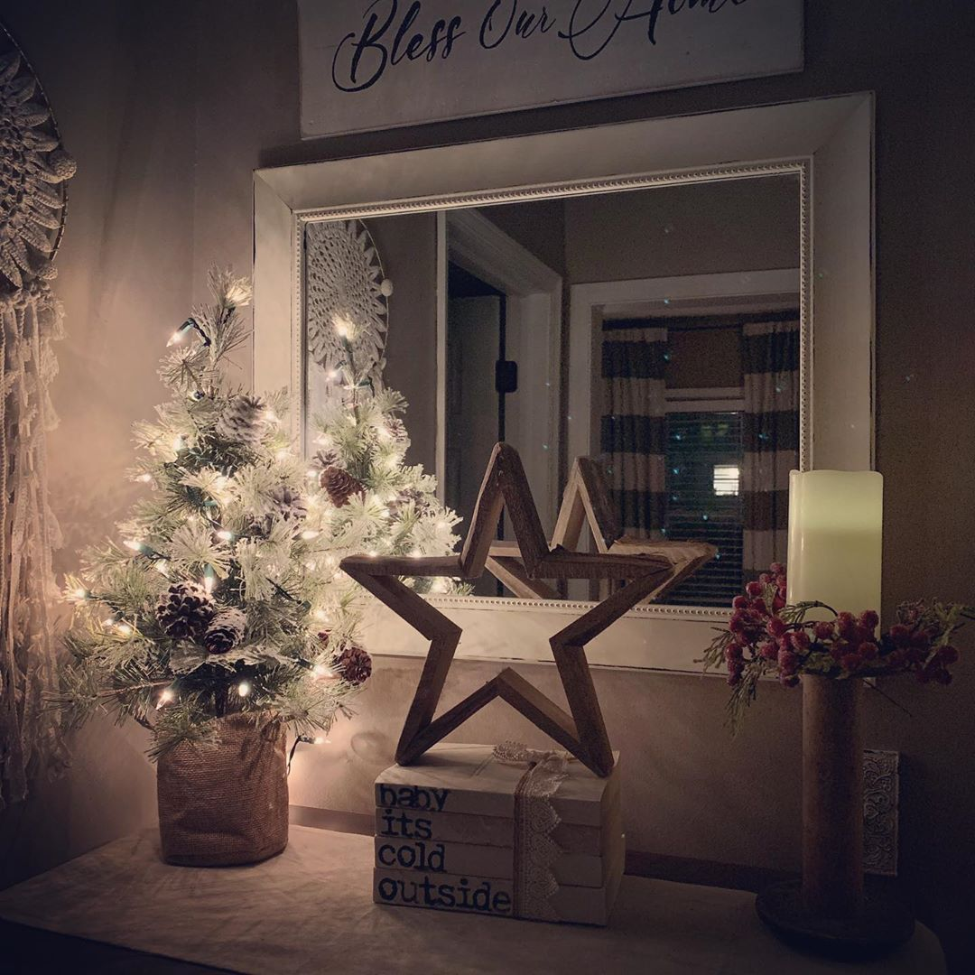 Rustic Christmas Decoration 2020 (11)
