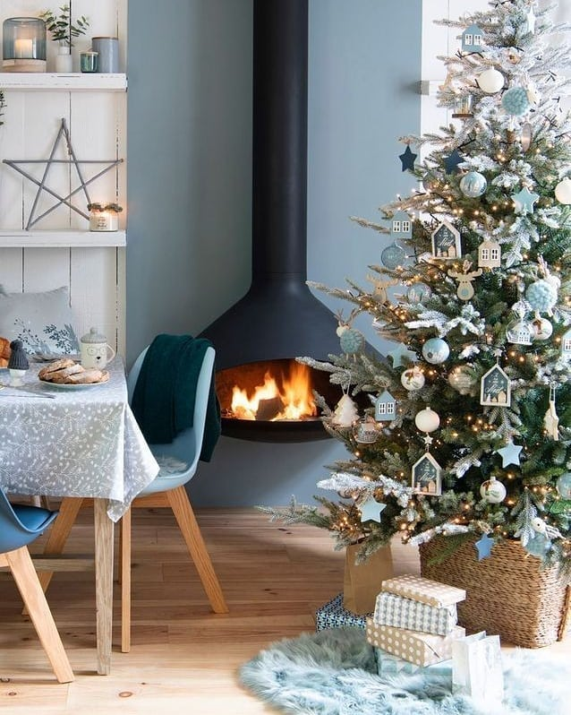 Fireplace Decorations for Christmas Home Decor 000 (1)