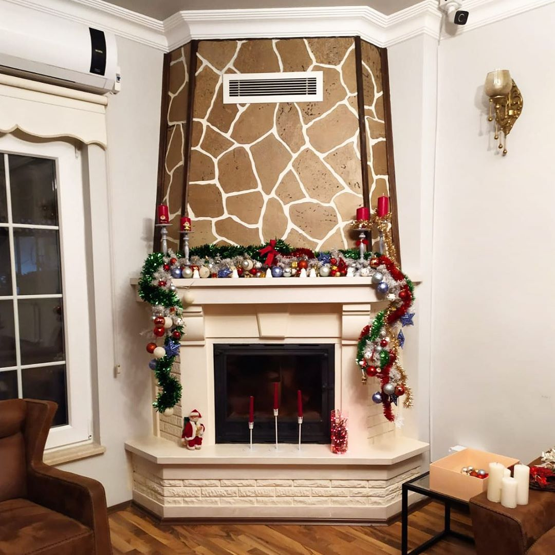 Fireplace Decorations for Christmas Home Decor 000 (3)
