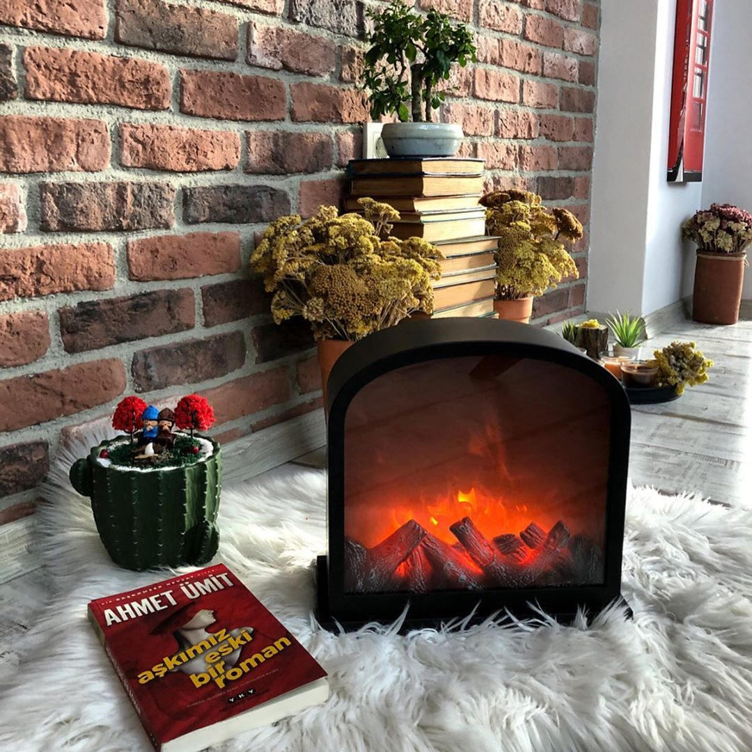 Fireplace Decorations for Christmas Home Decor (7)