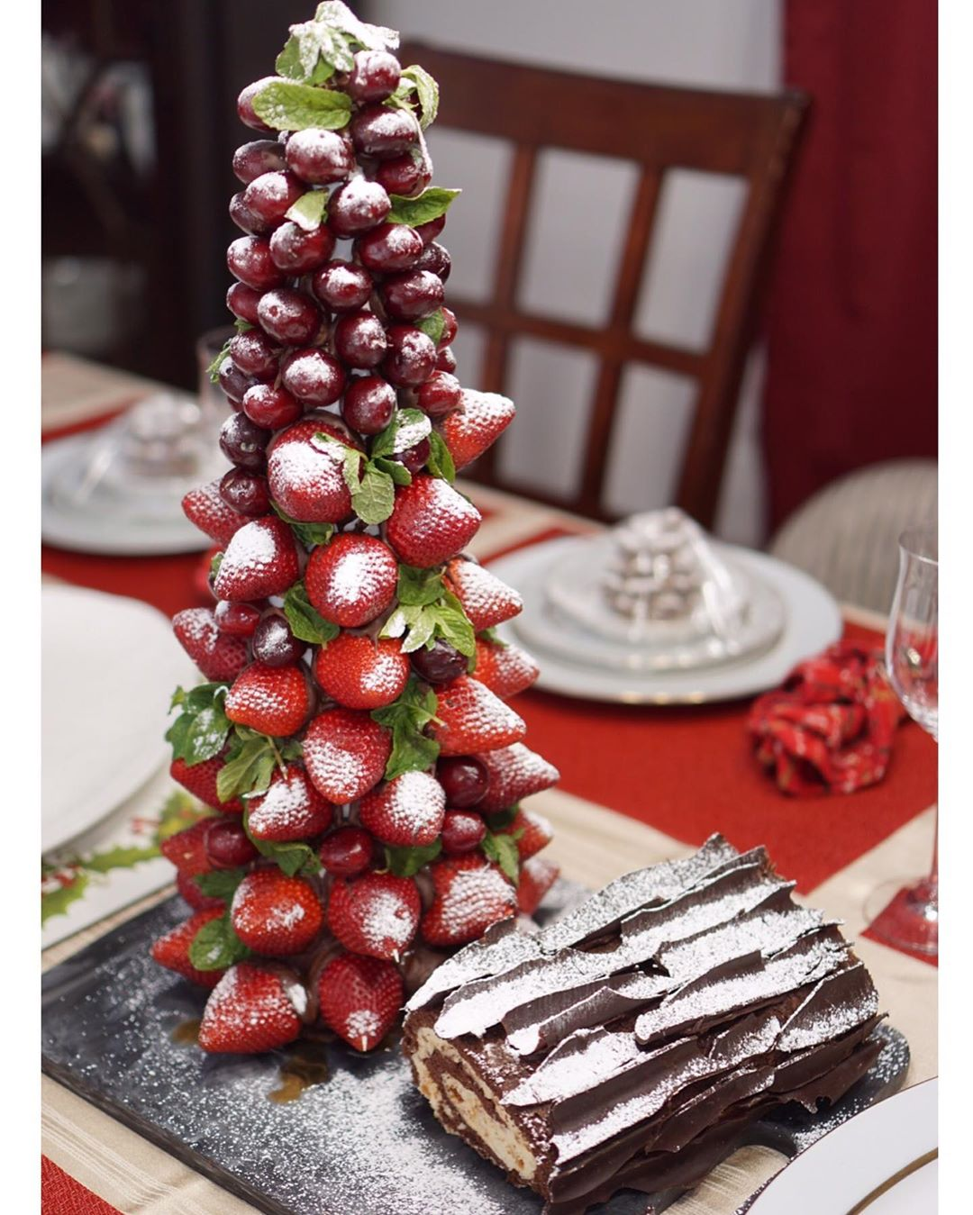 Strawberry Christmas Tree (5)