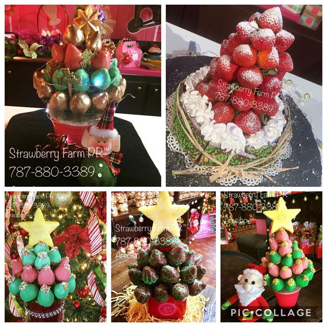 Strawberry Christmas Tree (7)
