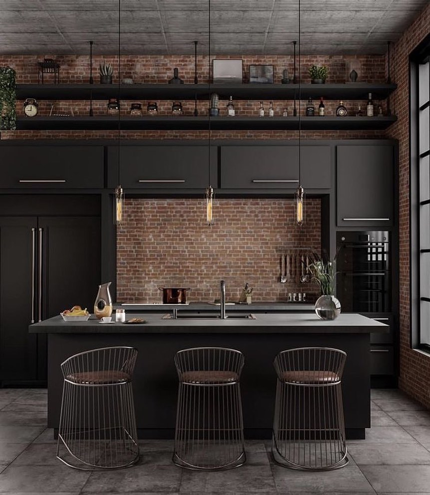 Black Kitchen Decor 2020 (4)