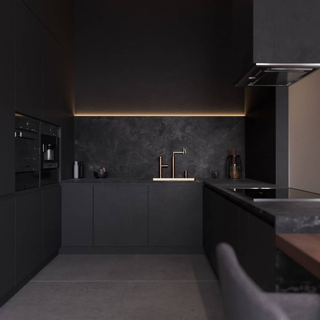 Black Kitchen Decor 2020 (9)