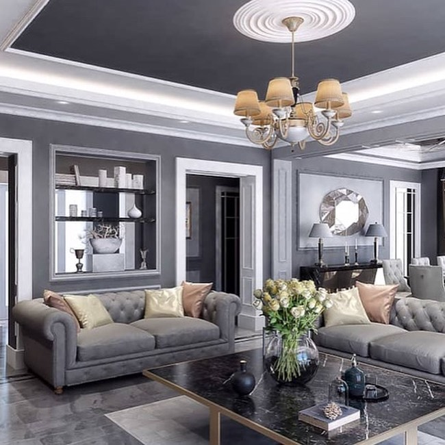 Gray, Green and Copper Home Decoration Trends 2020 (15)