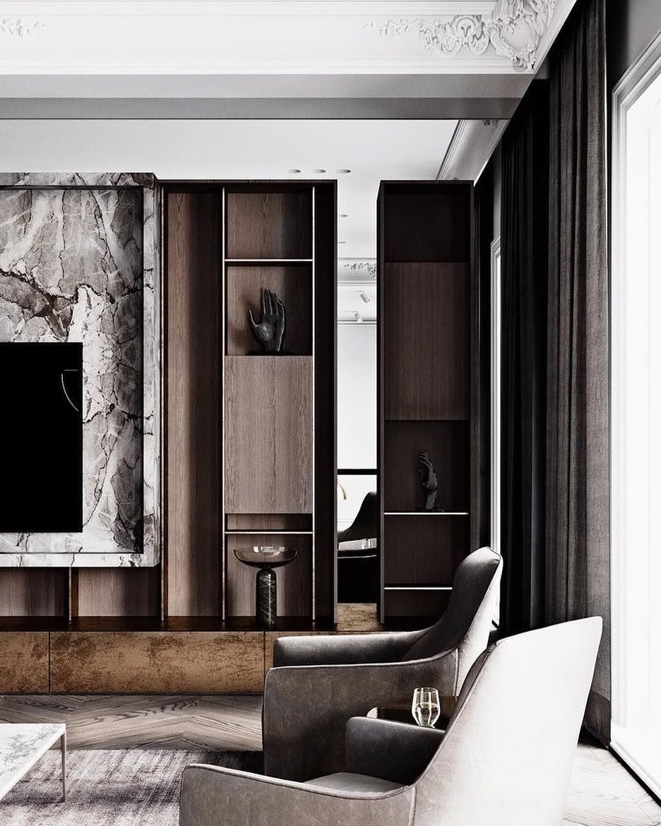 Marble TV Unit Models for Home Decor Trends 2020 (1)