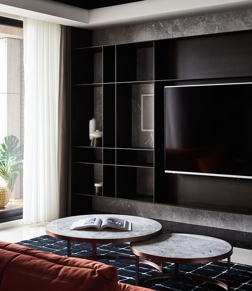 Marble TV Unit Models for Home Decor Trends 2020 (5)