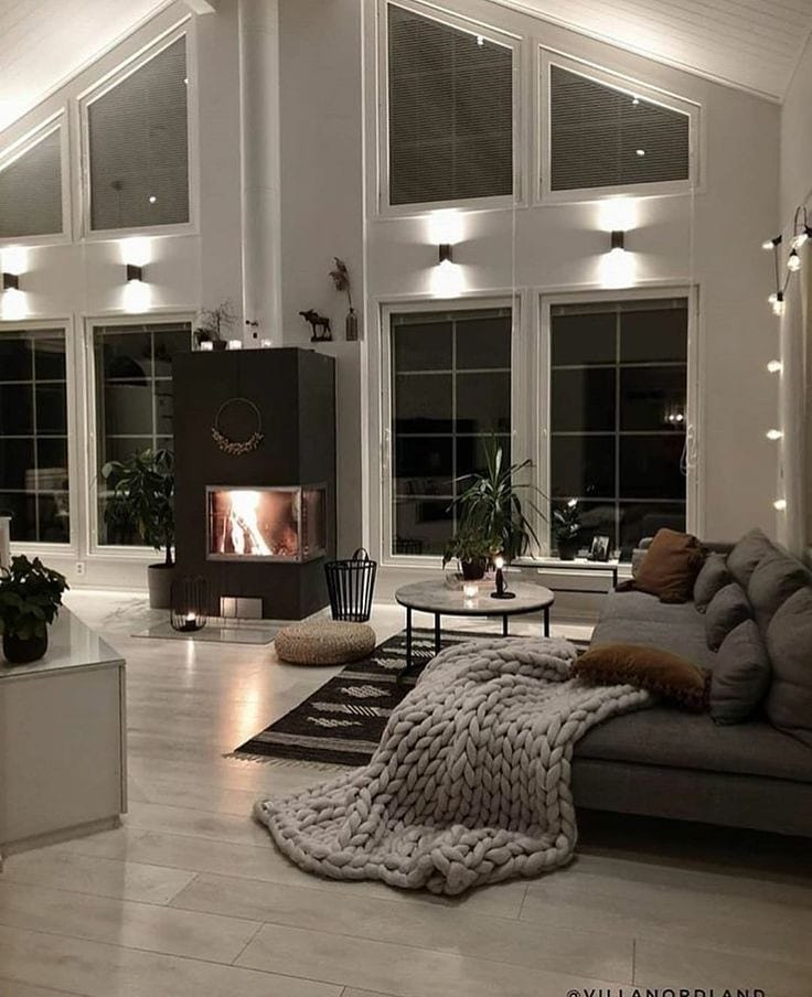 2020 Modern Living Room Decoration (34)