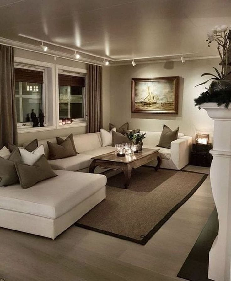 2020 Modern Living Room Decoration (36)