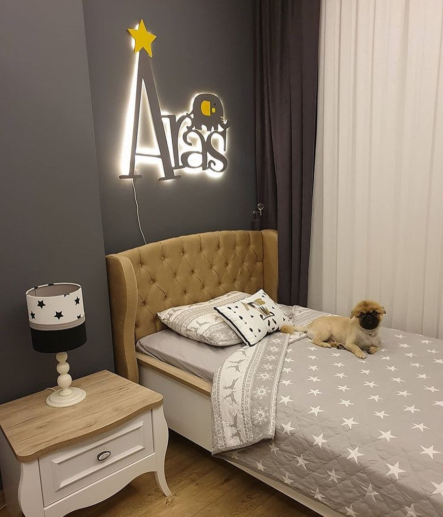Large and spacious children's room decoration (1)