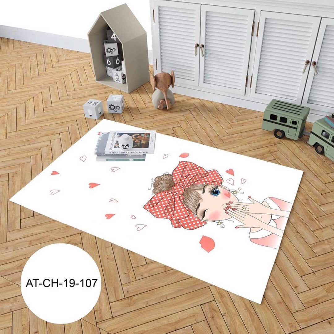Large and spacious children's room decoration (11)
