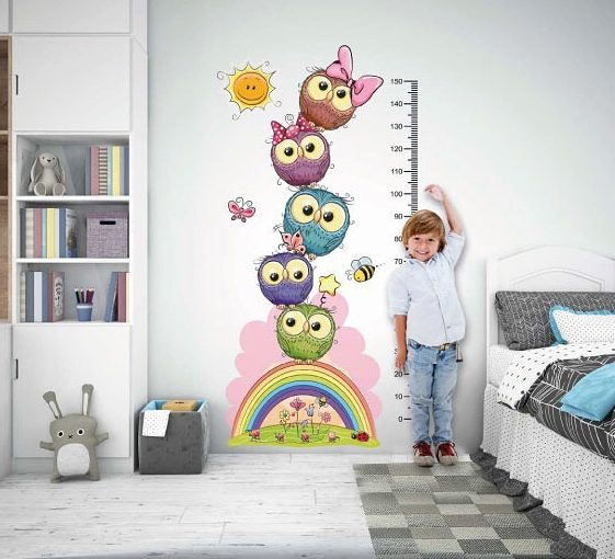 Large and spacious children's room decoration (3)