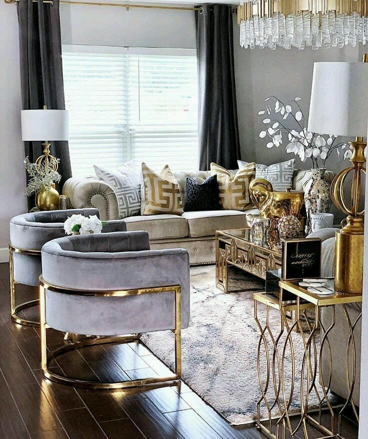 Golden Yellow Home Decorating Ideas 2020 (17)