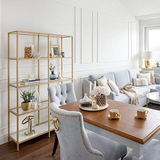 Golden Yellow Home Decorating Ideas 2020 (34)