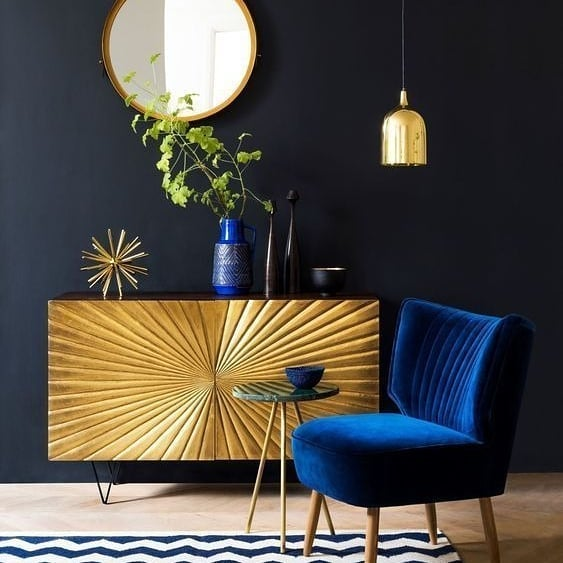 Golden Yellow Home Decorating Ideas 2020 (37)