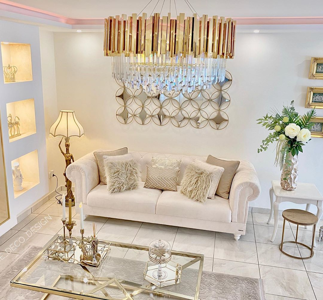Golden Yellow Home Decorating Ideas 2020 (44)