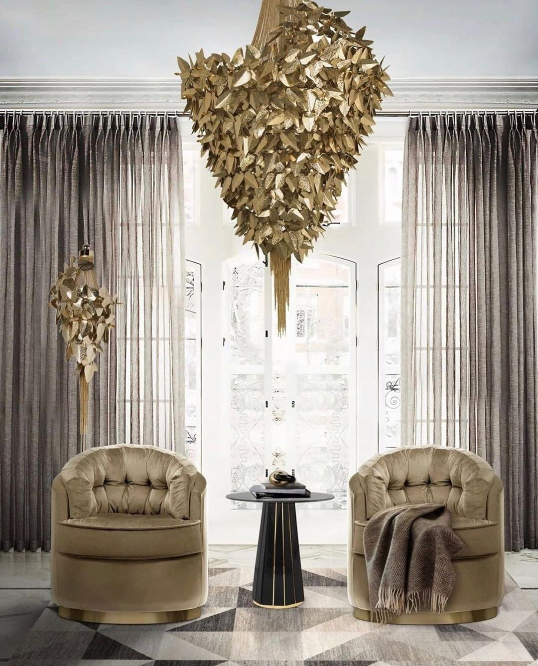 Golden Yellow Home Decorating Ideas 2020 (46)