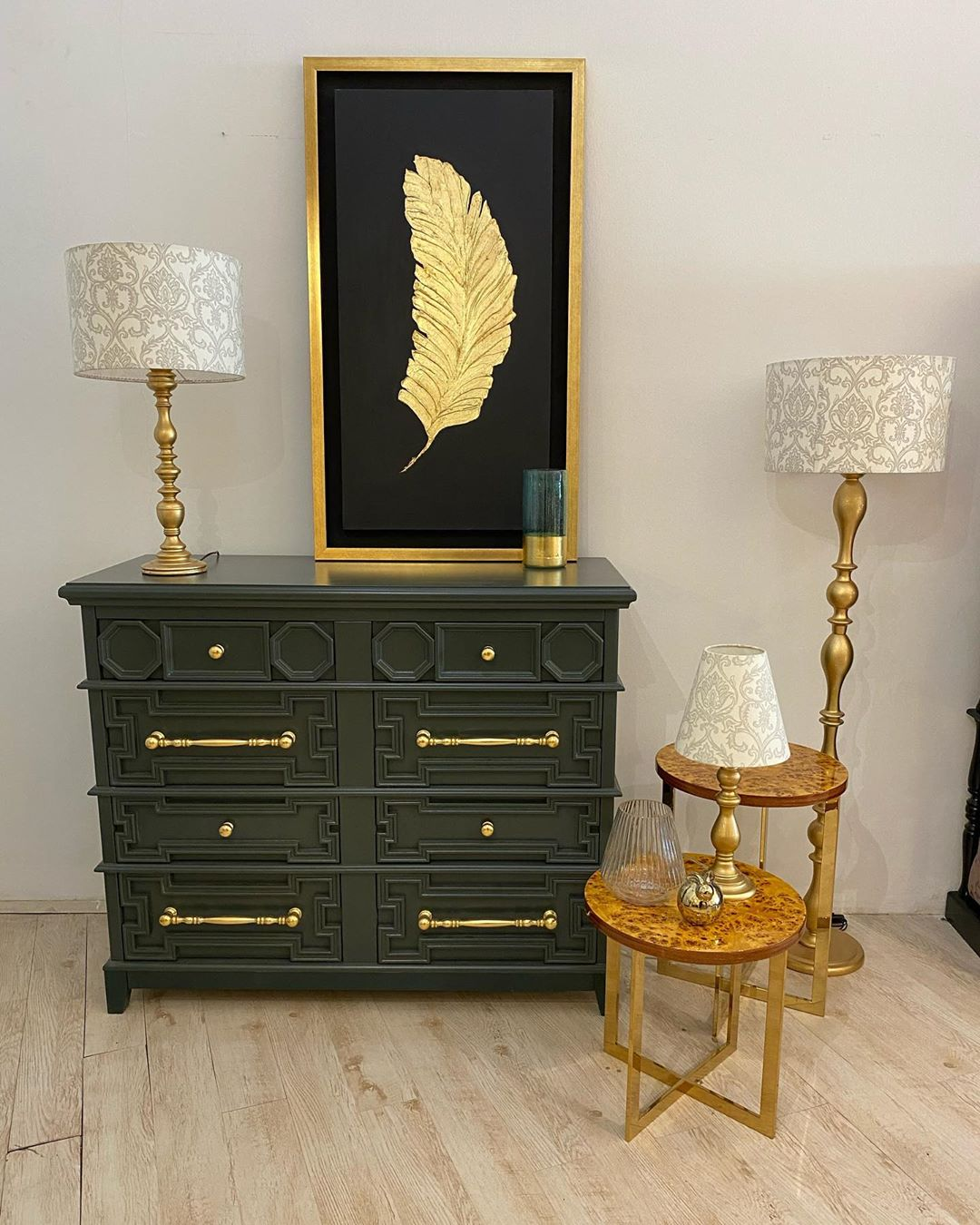 Golden Yellow Home Decorating Ideas 2020 (73)