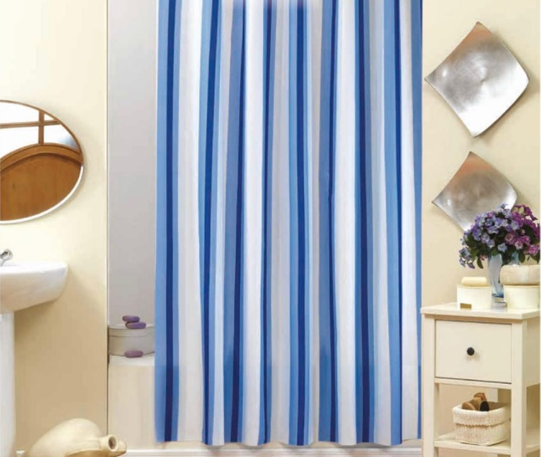 Bath Curtains and Colorful Fabrics (10)