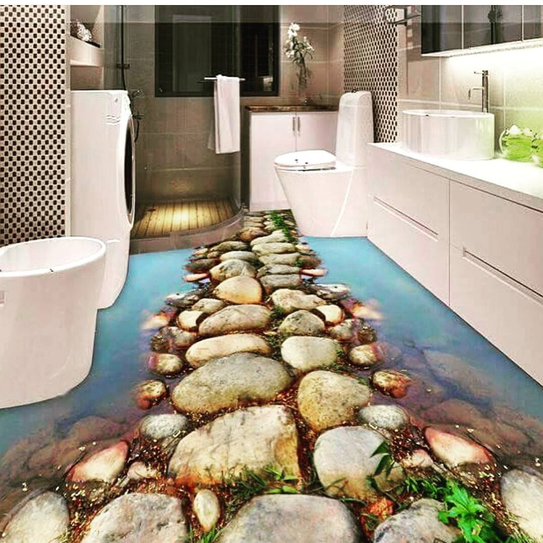 Bathrooms Decorated with Sea Views and Tones (11)
