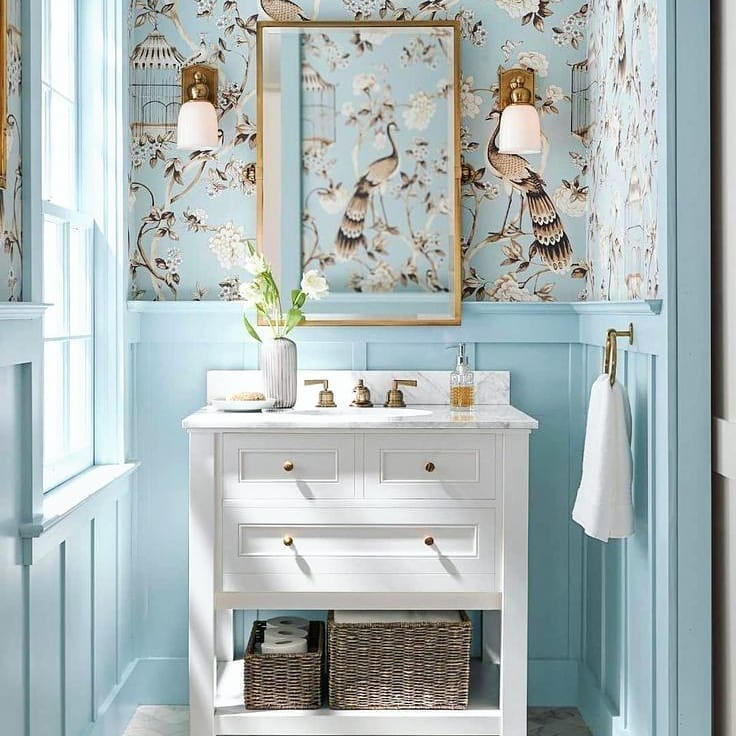 Bathrooms Decorated with Sea Views and Tones (12)