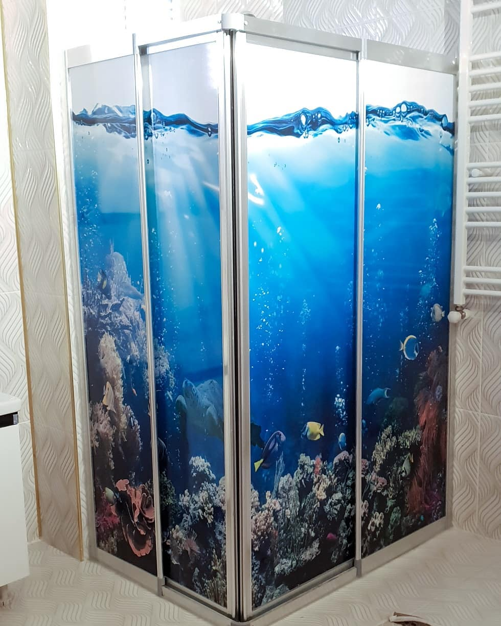 Bathrooms Decorated with Sea Views and Tones (22)