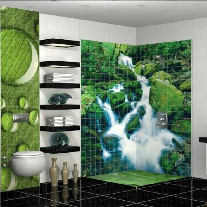 Bathrooms Decorated with Sea Views and Tones (3)