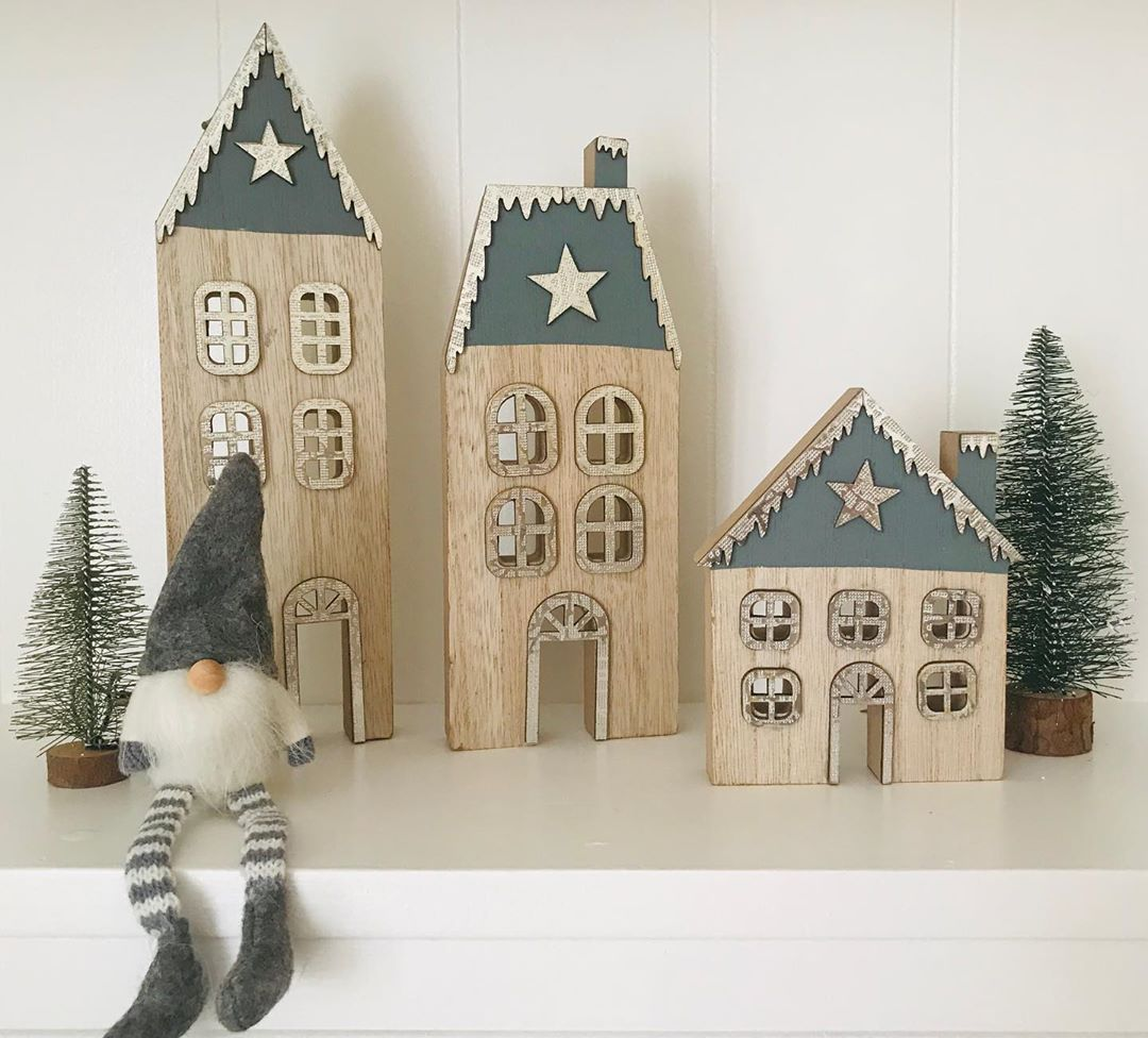 Gray Christmas Decoration for 2021 (8)