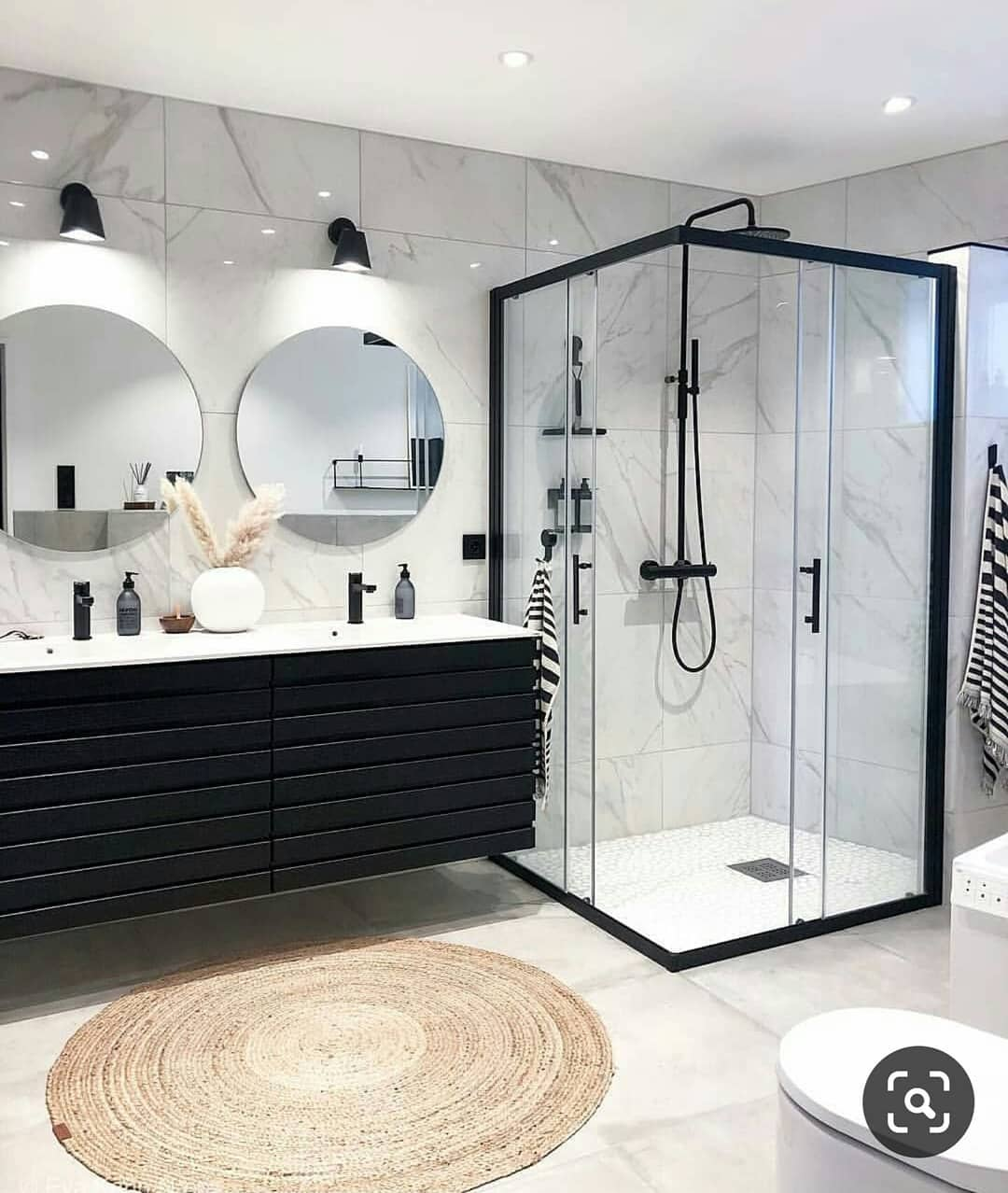 Gray or Black Tones in Your Bathroom (12)