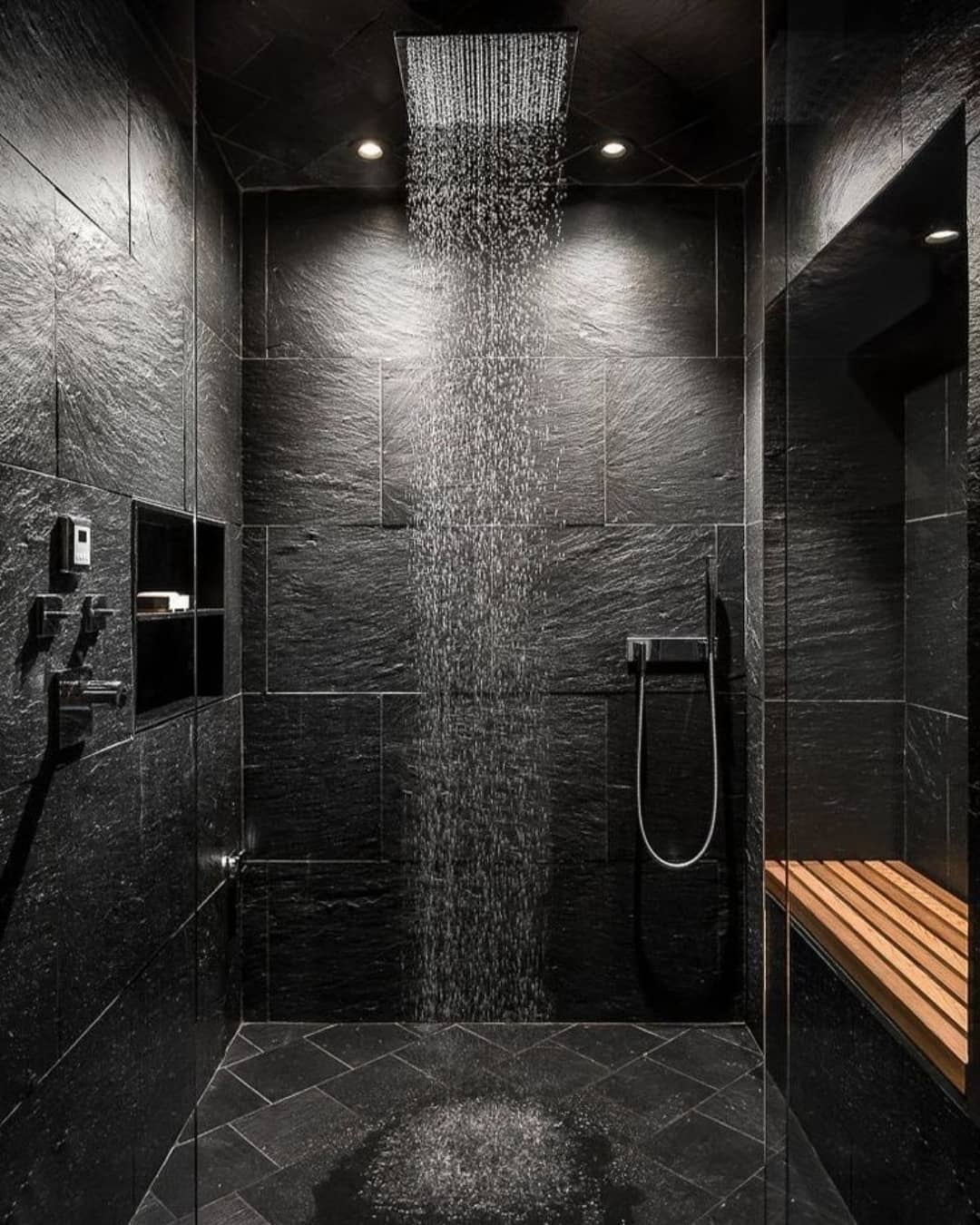 Gray or Black Tones in Your Bathroom (26)