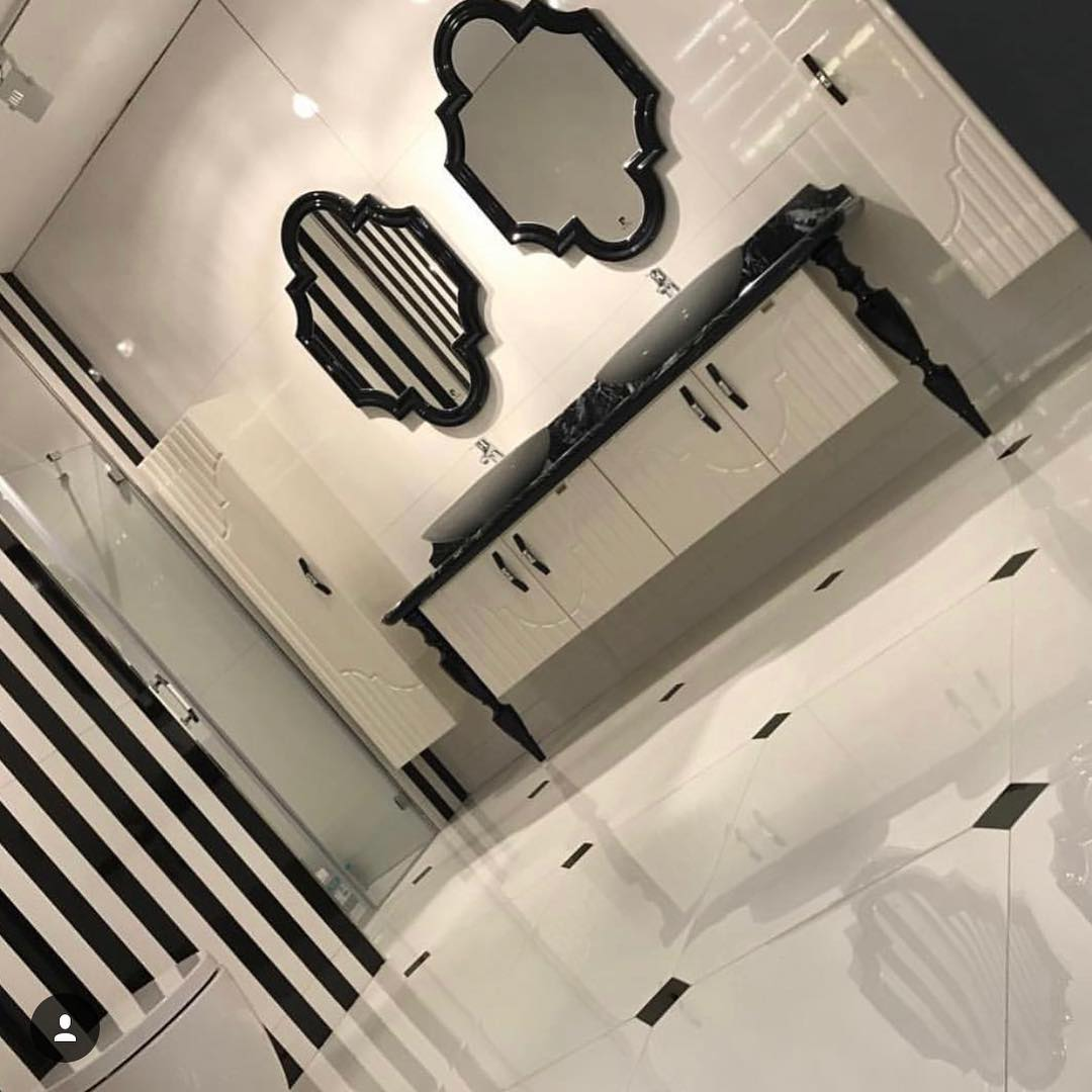 Gray or Black Tones in Your Bathroom (3)