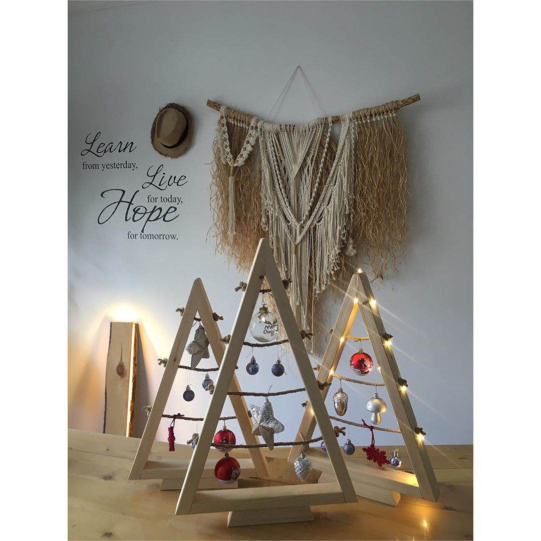 Wooden ChristmWooden Christmas Trees (10)as Trees (10)