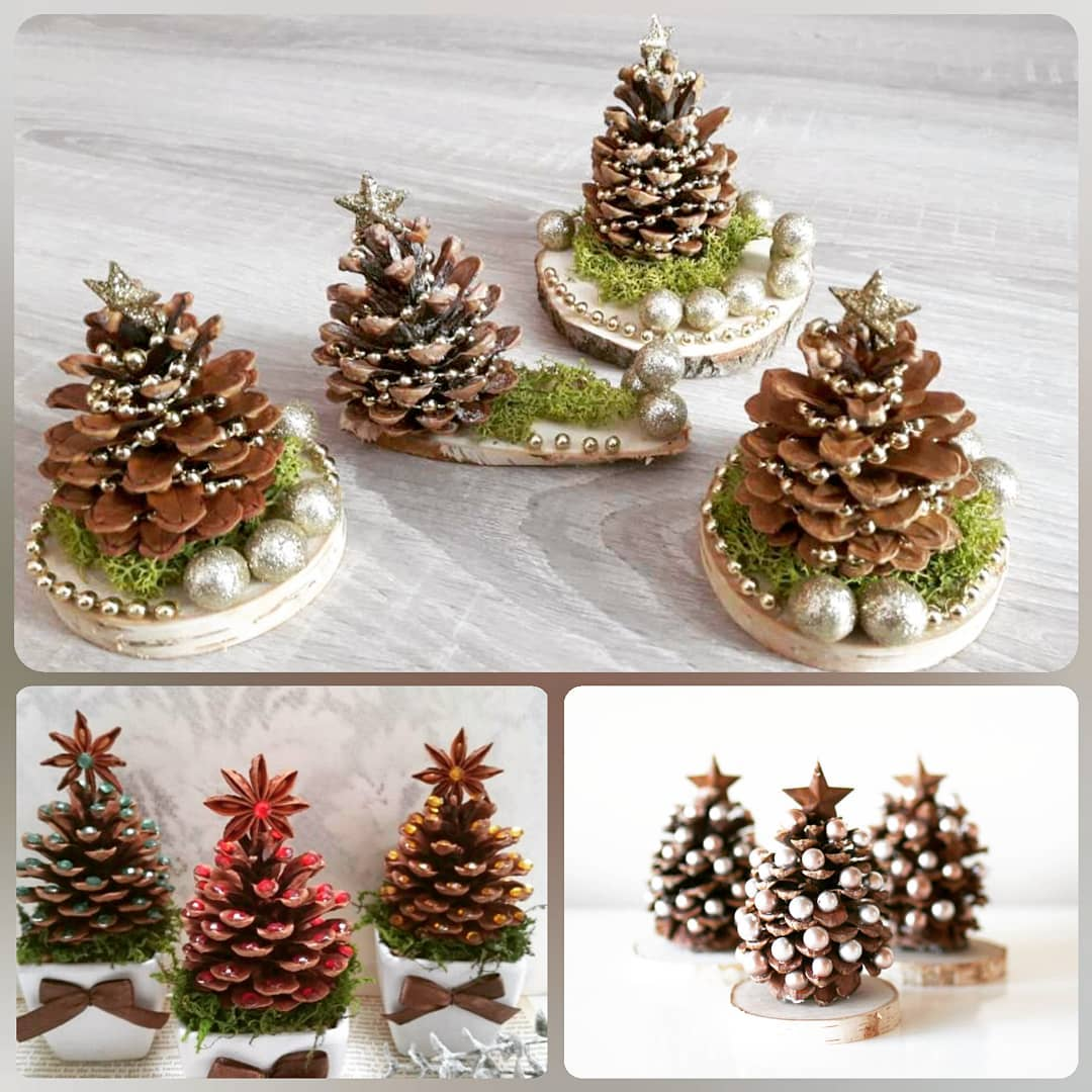Wooden accessories and trees (2)
