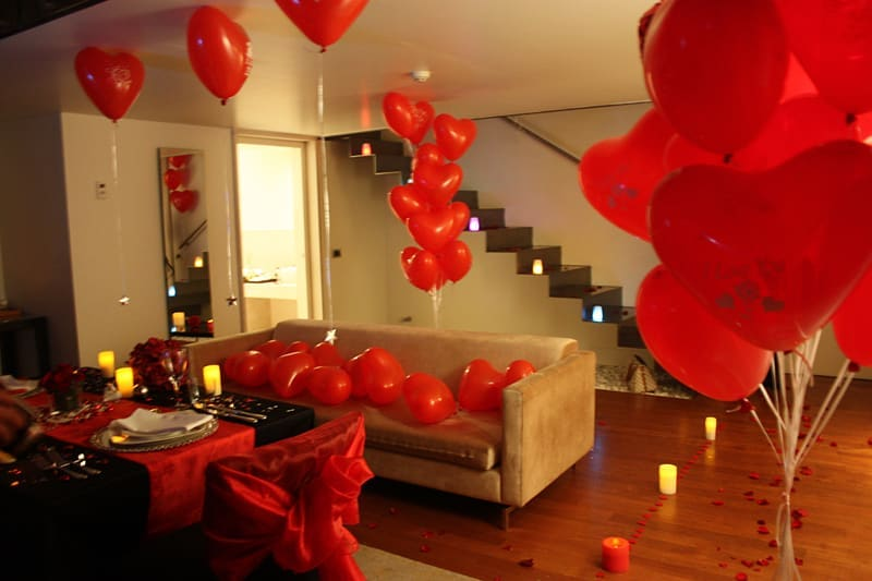 Room decoration for birthday surprise (11)