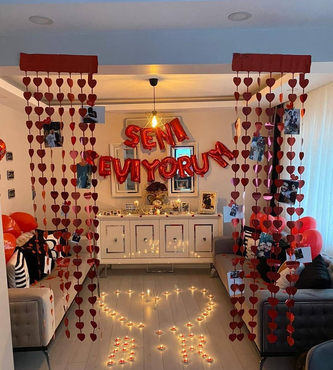 Room decoration for birthday surprise (22)